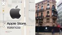 La Apple Store de Valencia ya luce el logotipo de Apple