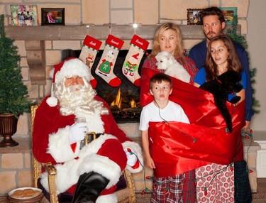 A un paso de la Navidad, a las celebrities se embriagan con el espíritu festivo