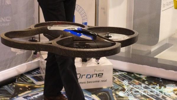 Parrot AR.Drone en vivo