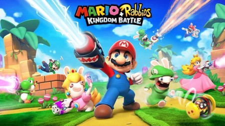 Mario + Rabbids: Kingdom Battle ya es oficial, un RPG táctico para Switch y este es su primer gameplay [E3 2017]