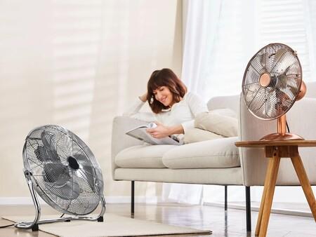 Se aproxima un episodio de calor con temperaturas de casi 50º: 9 ventiladores de menos de 35 euros de Aldi, Lidl y Amazon