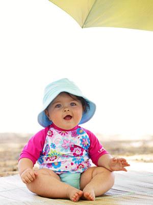 Las primeras vacaciones con el bebé