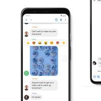 Google Mensajes lanza las reacciones y las nuevas sugerencias de stickers