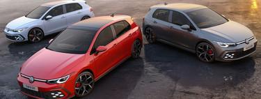 Volkswagen desvela la potencia de los Golf GTI, GTD y GTE antes del Salón de Ginebra