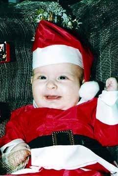La foto de tu bebé: mi primera Navidad