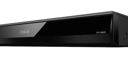 Panasonic apuesta por Dolby Vision y HDR10+ en su nuevo reproductor UHD: el Panasonic UB820