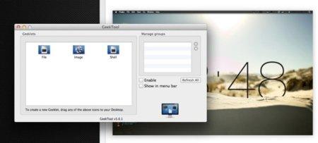 GeekTool, consigue la aplicación ahora desde la App Store y personaliza tu escritorio