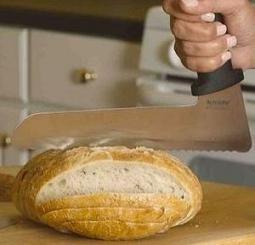 Un cuchillo con diseño diferente