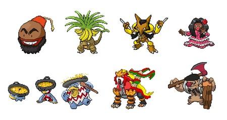 Pokemons Iberia