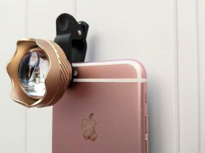 La relativa utilidad de los accesorios para la cámara del móvil