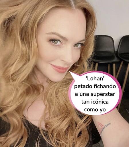 Lindsay Lohan vuelve a la interpretación por Navidad: Así es la comedia romántica de domingo por la tarde que estrenará en 'Netlfix'