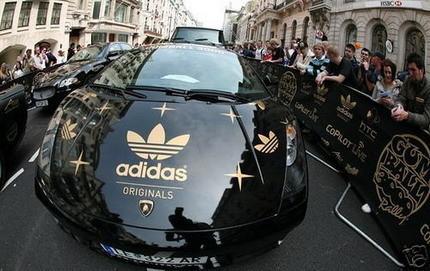 Lamborghini Gallardo de la Gumball 3000 Xzibit