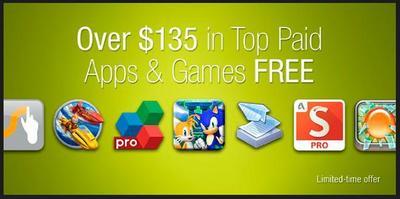 Amazon App Store regala 27 aplicaciones valoradas en 135 dólares