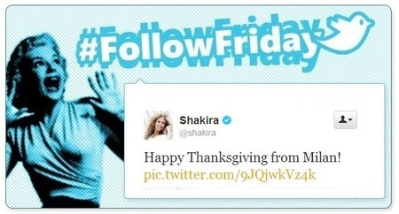 #FollowFriday de Poprosa: a vueltas con el #thanksgiving