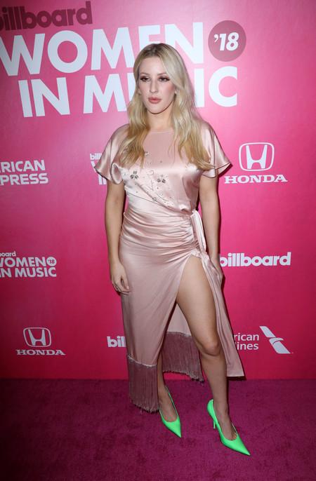Ellie Goulding red carpet billboard