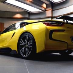 Foto 13 de 16 de la galería bmw-i8-amarillo en Motorpasión