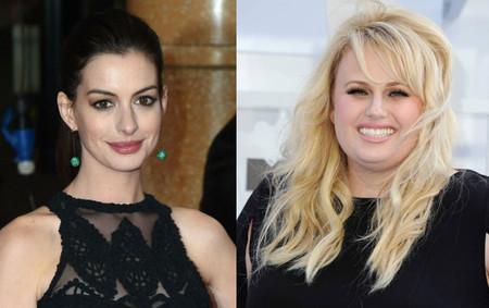 Anne Hathaway y Rebel Wilson protagonizarán el remake femenino de 'Un par de seductores'