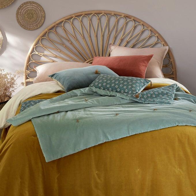 Cabecero de cama de ratán Tio