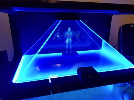 """Cortana de Microsoft """"cobra vida"""" con este holograma al más puro estilo 'Halo'"""