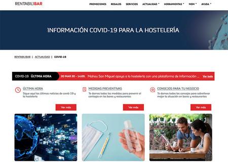 El Grupo Mahou San Miguel crea un servicio para dar información a los hosteleros en relación al coronavirus
