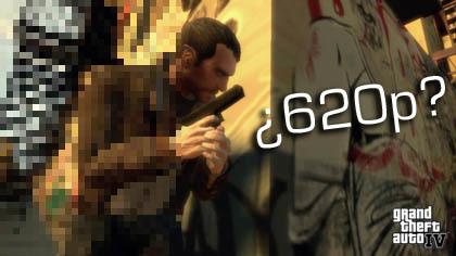 'GTA IV' en PS3 funciona a 620p y en Xbox360 a 720p. ¿WTF?
