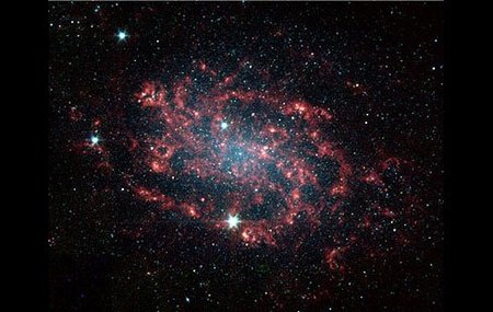 La primera fotografía de la Materia Oscura