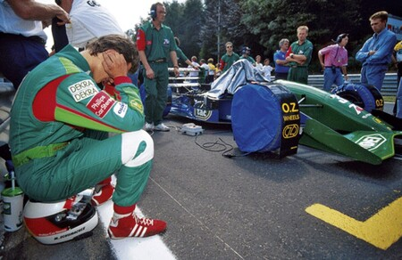 Schumacher Jordan Spa F1 1991 2