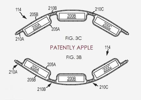 Una más del iWatch: Apple patenta una batería flexible