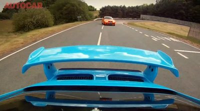 BMW M3 GTS vs Porsche 911 GT3, por Autocar