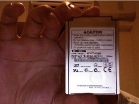 SSD de 1.8 pulgadas de Toshiba y 3 milímetros de altura