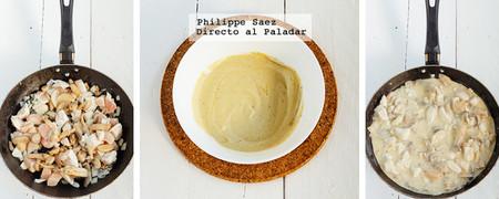 Espaguetis Pollo Mostaza Receta