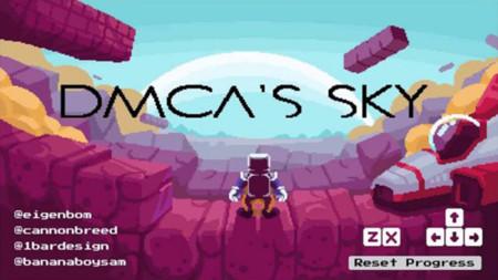 No Mario's Sky fue retirado por Copyright, pero  se ha trasformado en DMCA´s Sky