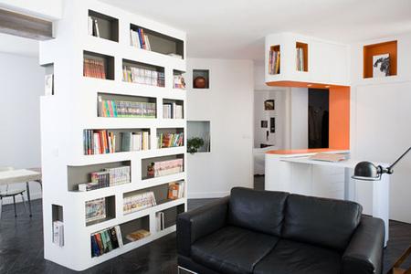 Casas que inspiran: un apartamento parisino con los libros por protagonistas