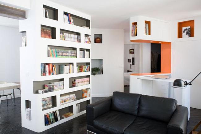 apartamento parisino - salón