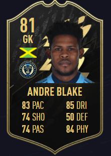 Blake TOTW 4 FIFA 22 equipo de la semana