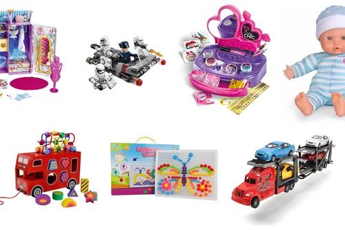 7 juguetes rebajados en Amazon desde 8 hasta 28 euros para todas las edades