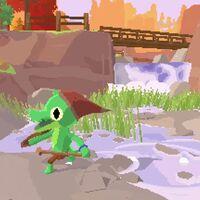 El único deseo para este año es jugar a Lil Gator Game, la obra indie que combina Breath of the Wild y A Short Hike