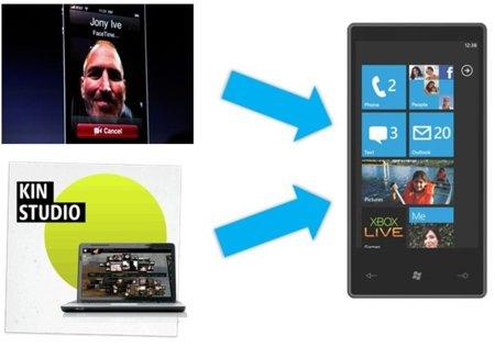 """Windows Phone 7 pronto incluirá una versión de """"FaceTime"""" y funciones de KIN Studio"""