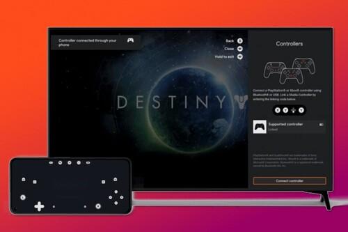 Stadia permitirá usar tu teléfono para jugar en Android Tv y Chromecast. Ya lo he probado y estas son mis impresiones