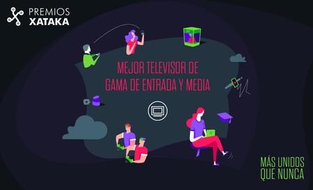 Mejor televisor de gama de entrada y media: vota en los Premios Xataka 2020