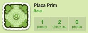 gowalla sitio plaza prim reus