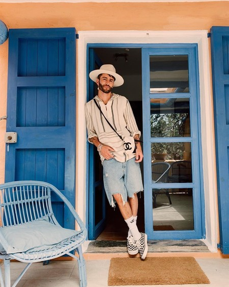 Prince Pelayo Diaz Short Ancho Pantalon Corto Trendencias Hombre Street Style 07