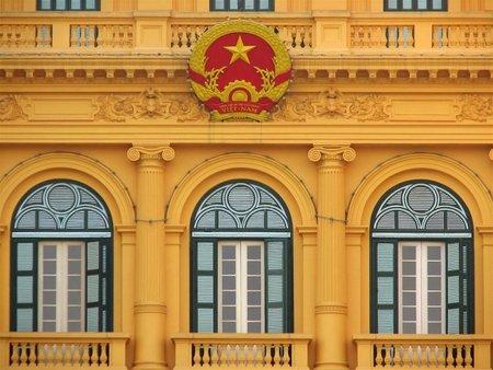 El Palacio Presidencial de Hanoi y Ho Chi Minh