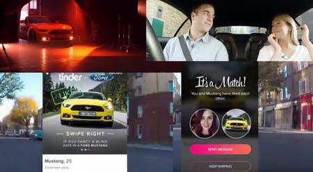 Video: Ford Mustang se convierte en Cupido para cinco parejas de Tinder