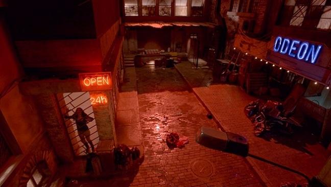 Imagen de la película 'El callejón'