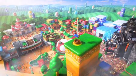 Super Nintendo World: el parque de diversiones de Mario, ya tiene su primer tráiler