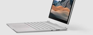 Microsoft Surface Book 3: gran diseño y mejores prestaciones para un equipo que pierde varias oportunidades