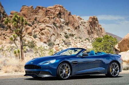 Aston Martin Vanquish Volante 2013