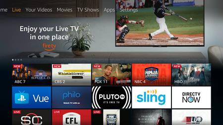 Los dispositivos Fire TV de Amazon recibirán una pestaña para facilitar el acceso a contenido en directo