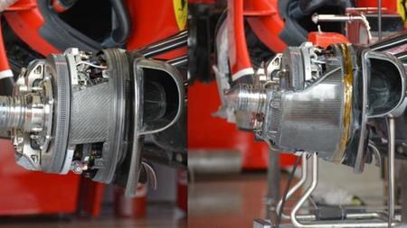 En Silverstone, Ferrari presentará diferentes sistemas de frenos